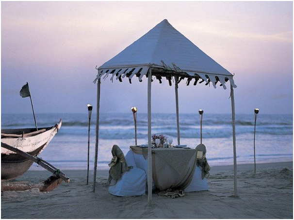 Romantic Date in Goa