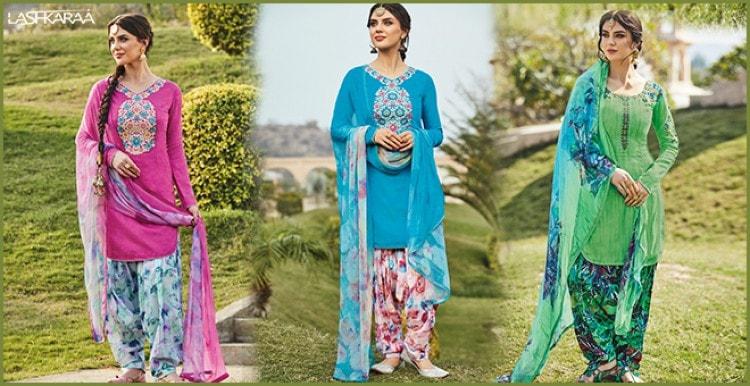 Wide Range of Punjabi Suits