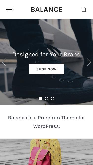 balance-mobile Theme