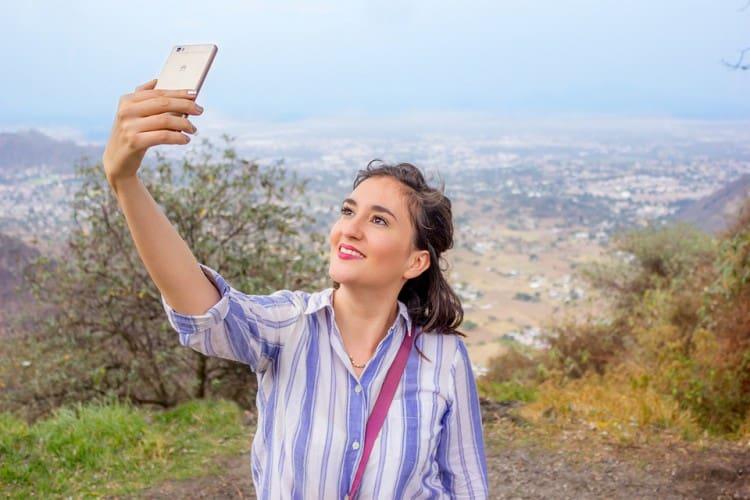 Travelling Selfie