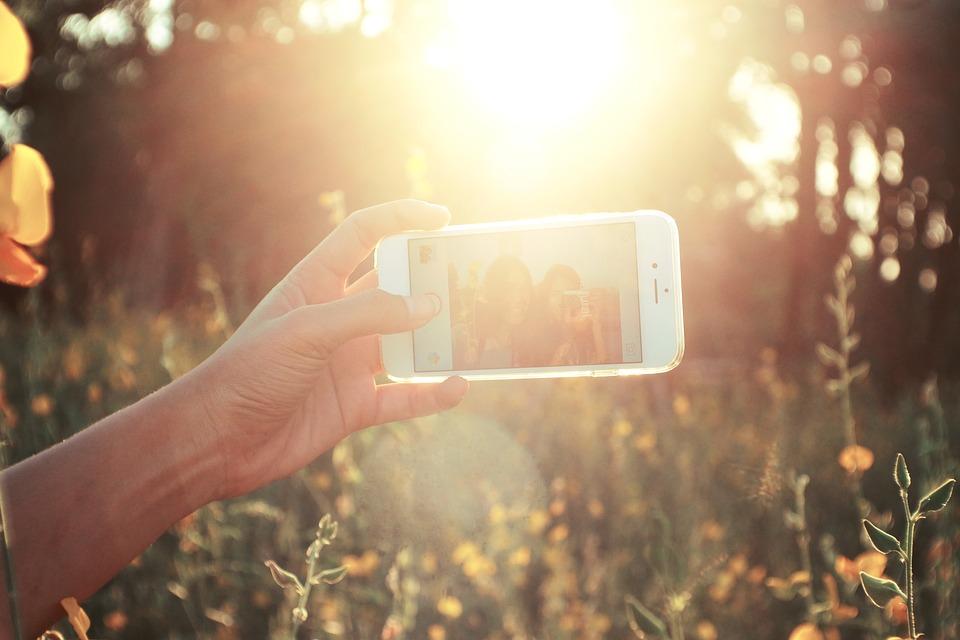 Traditional selfies
