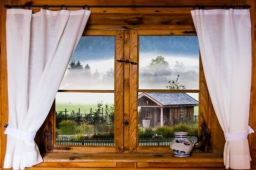 Curtains and Paintings