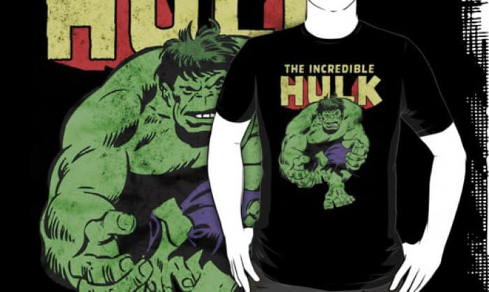 Bring Out The Superhero In With The Incredible Hulk T-Shirt!