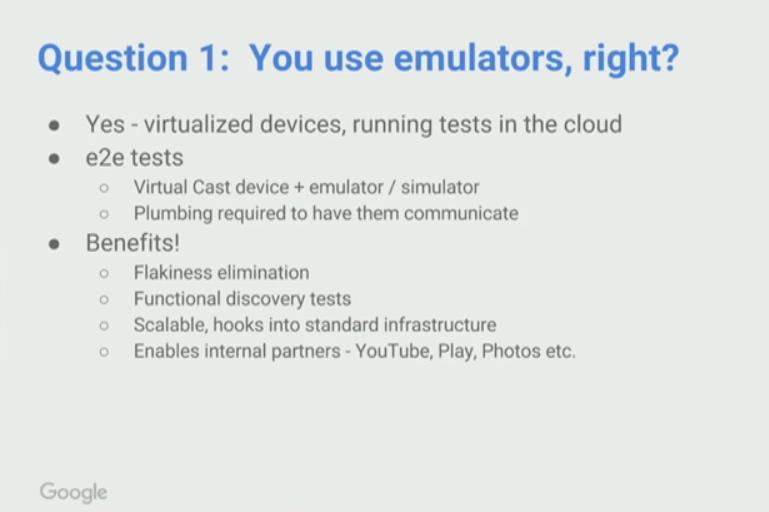 Using Emulators