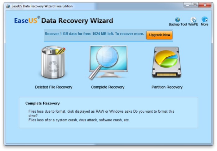 Easily Recover the Deleted Files with EaseUS Software