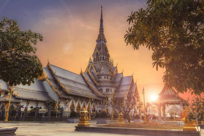 Time of your visit to Thailand