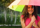 Monsoon Health Tips