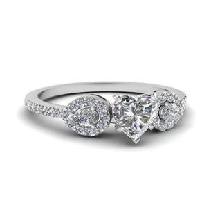 Side Stone Rings/Trinity Rings