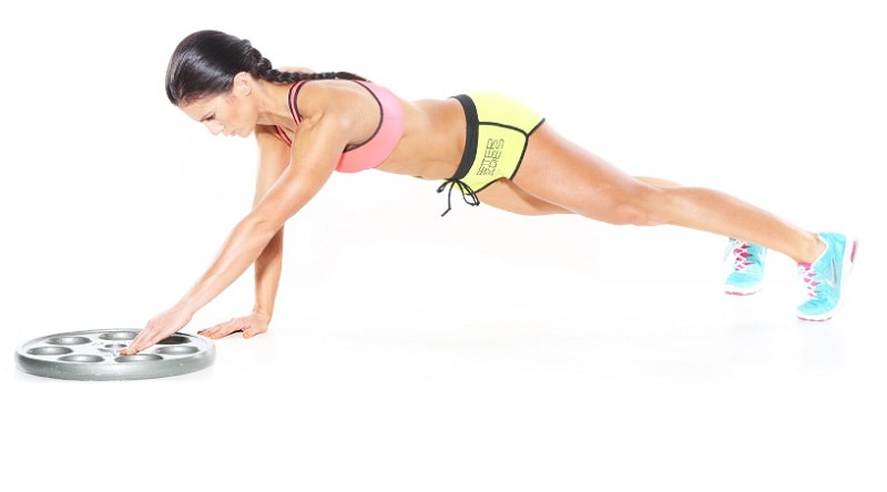 Plate movement planks