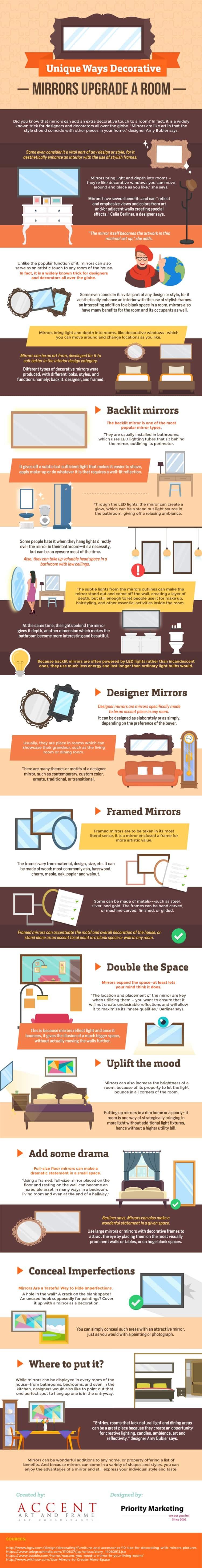 Unique Ways Decorative Mirrors Upgrade A Room!