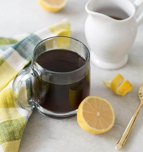 Warm maple coffee recipe