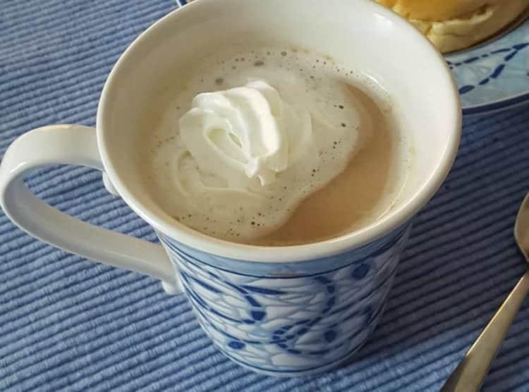 Maple cream coffee