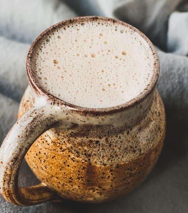 Maple cardamom latte