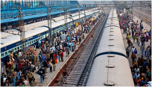 train system in India
