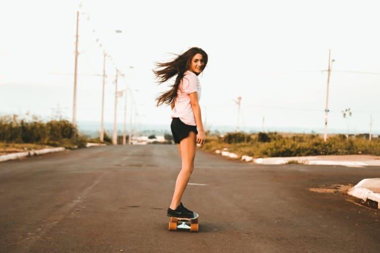 professional skateboarder
