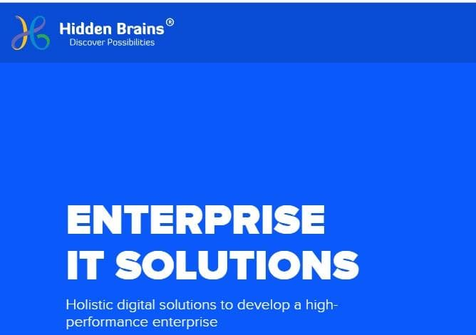 HIDDEN BRAINS INFOTECH: