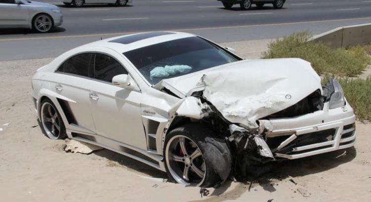Road Accident in California