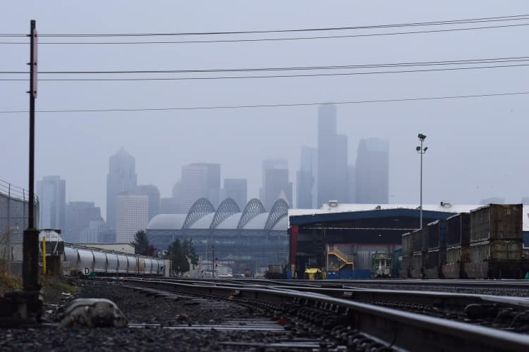 Rainy Day in Seattle