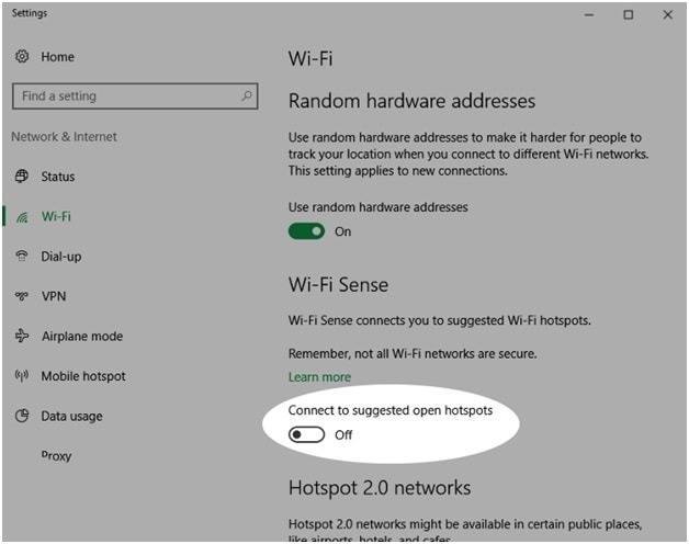 Stop Wi-Fi connecting automatically
