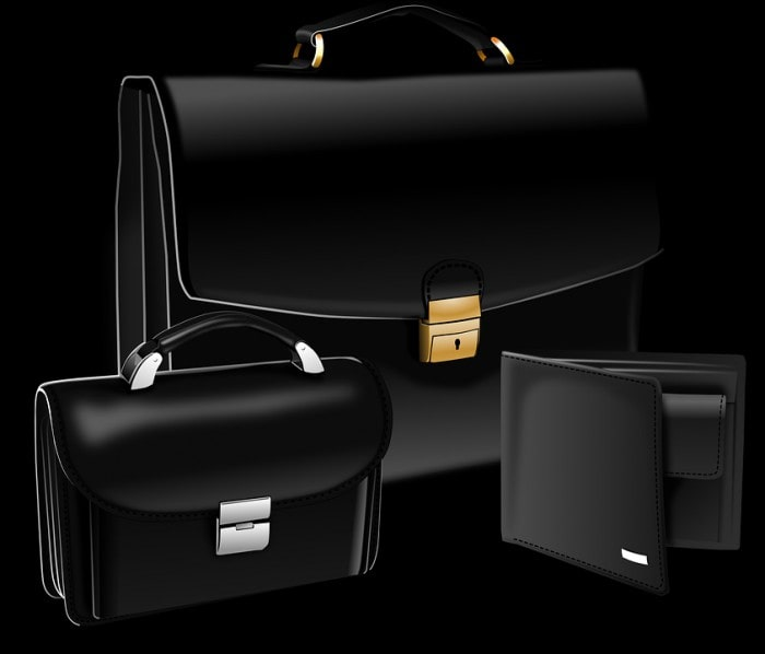 A Leather Suitcase