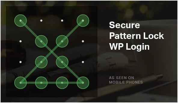 Secure pattern lock