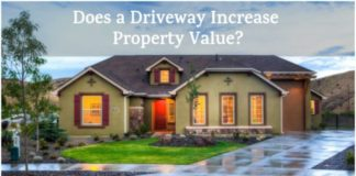 does paving driveway increase home value