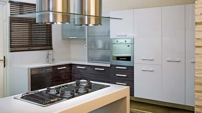Appliances set up at your kitchen
