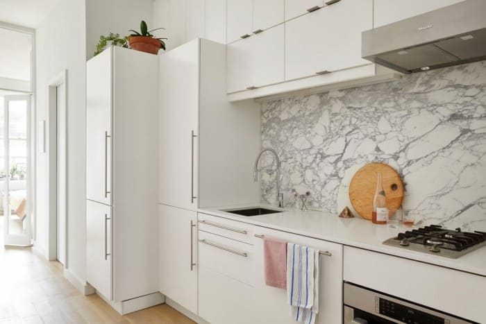 L-Shaped countertop