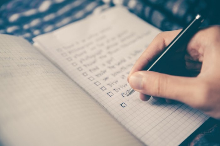 Plan your tasks ahead of time