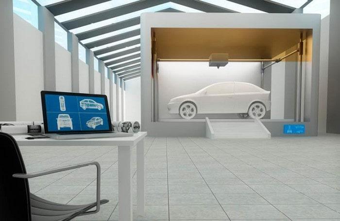 3D printing an entire car