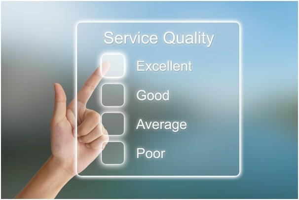 customer's satisfaction level