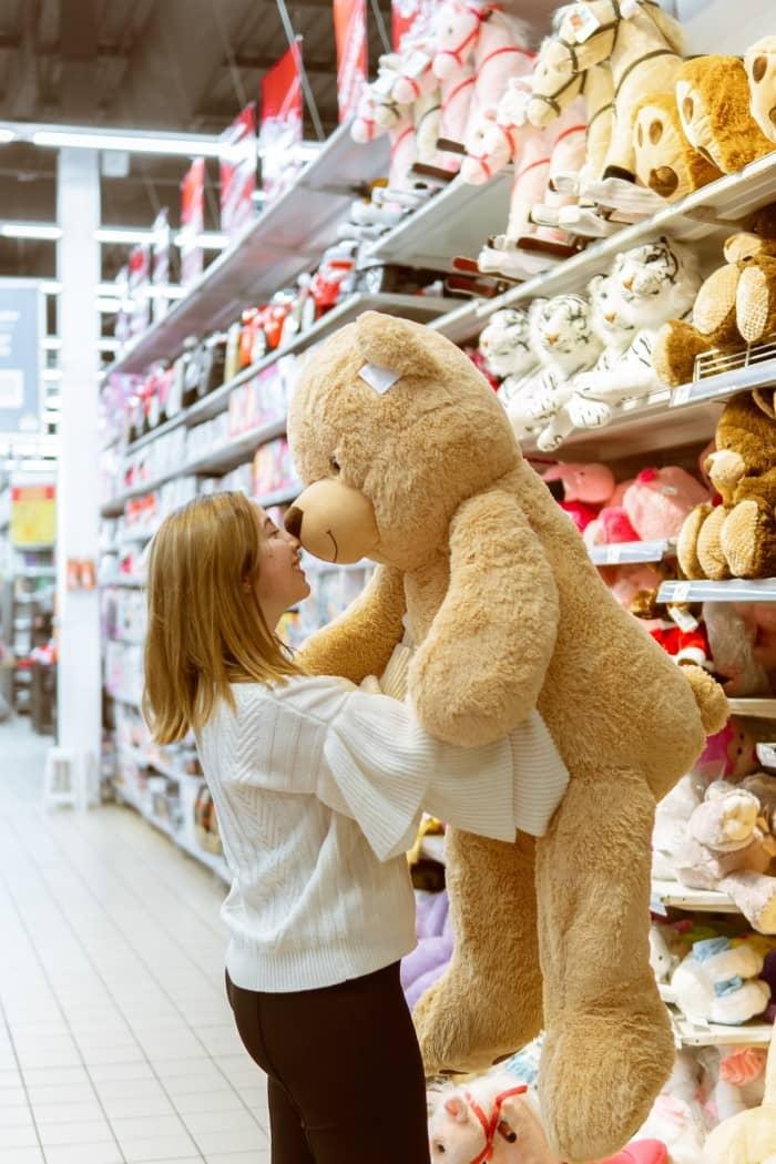 A Big Teddy Bear