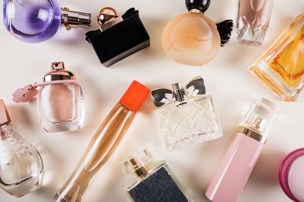 Bottle of Her Favorite Perfume