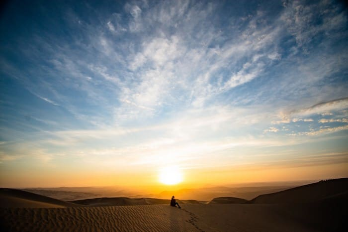 Catch the Sunrise in Morning Desert Safari