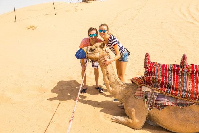 Wonderful Camel Ride Around the Desert