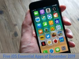 Five iOS Essential Apps of December 2019