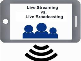 Live Streaming vs. Live Broadcasting