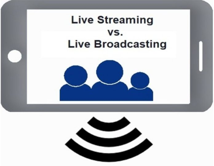 Live Streaming vs. Live Broadcasting