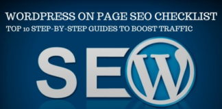 WordPress On Page SEO Checklist
