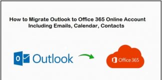 how to migrate outlook to office 365