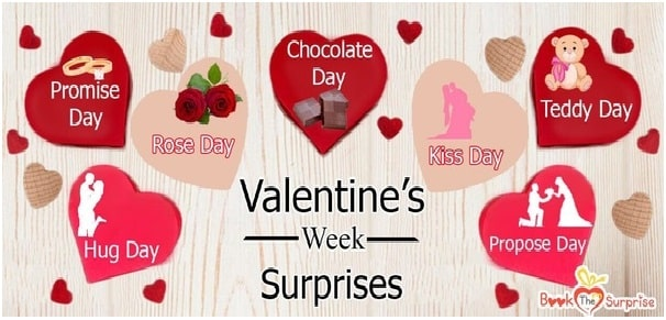 7 Days of Valentine's Day Surprises