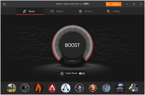 Use Smart Game Booster