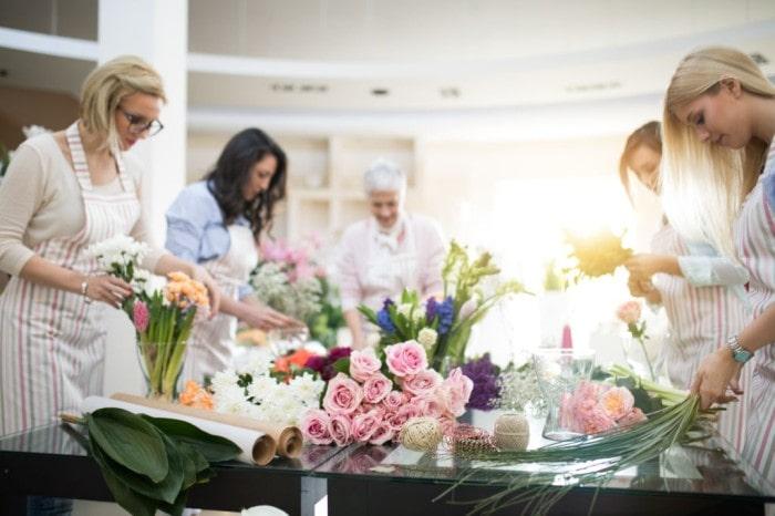 Attend a flower arranging class