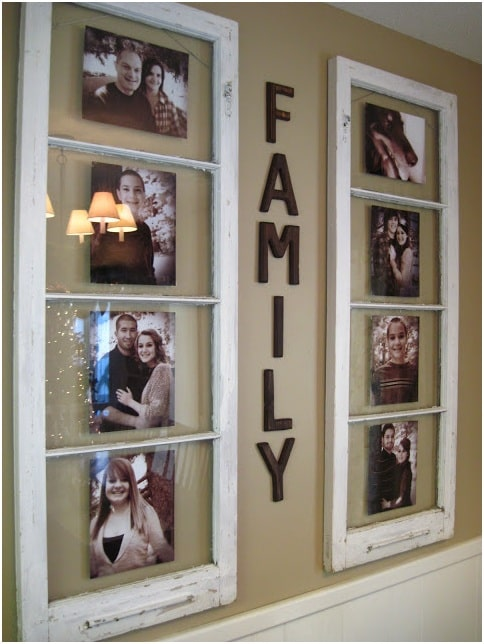 Window Picture Holder