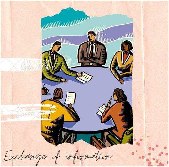 Exchange of information