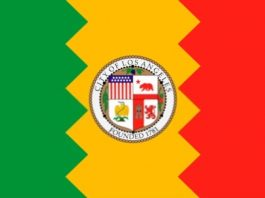History of the Los Angeles Flag