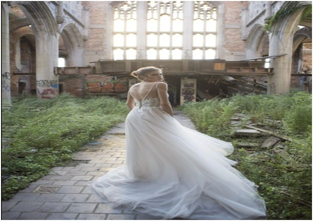 Tulle for a Fairytale Wedding