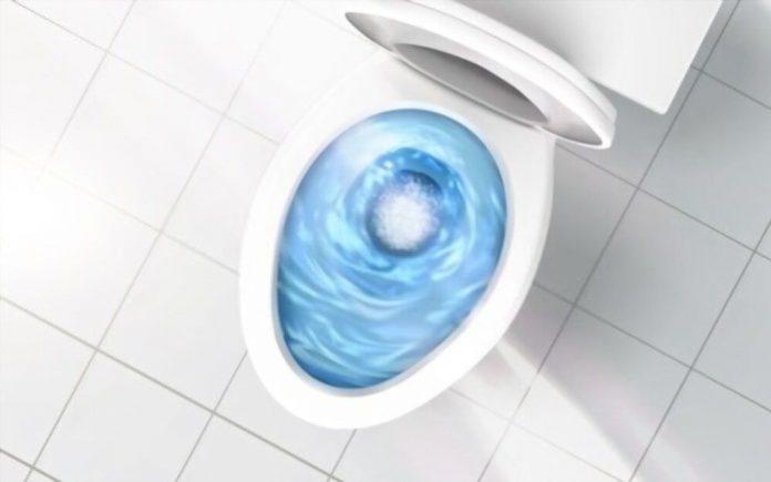 toilet gurgles