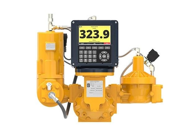 A positive Displacement Liquid Flow meter