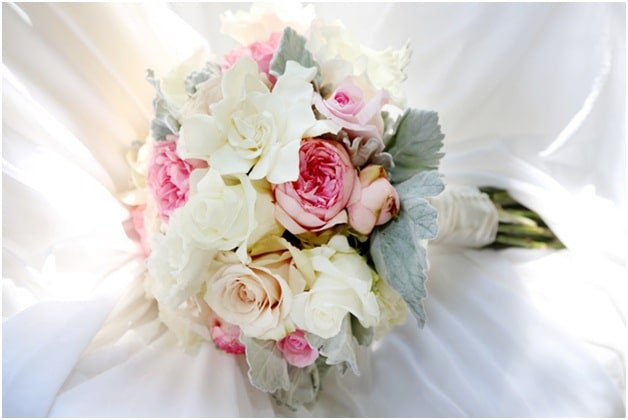 White Medley Bouquet